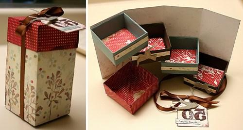 Волшебная оригами коробочка