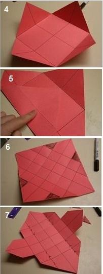Волшебная коробочка оригами