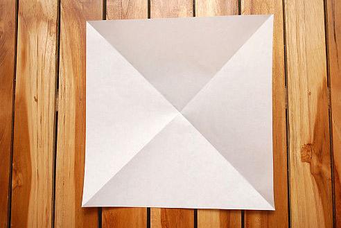 **Оригами схема объемного куба