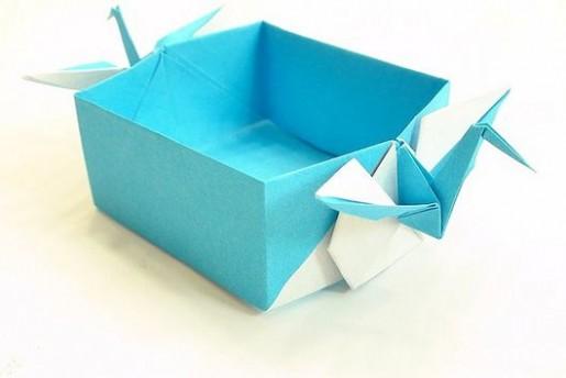 Оригами сборка журавлиной