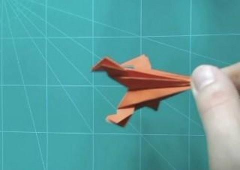Оригами для начинающих: ракета