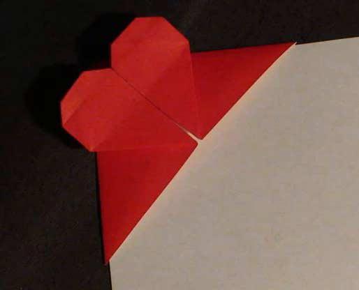 Оригами схема закладки для