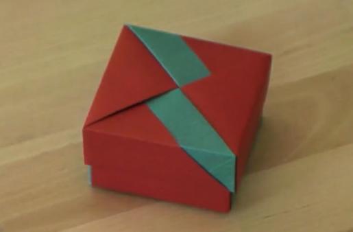 Сувенирная коробочка своими руками