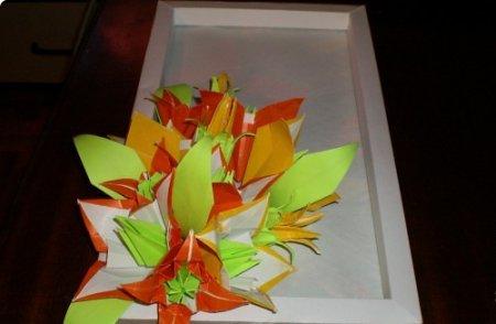 История оригами в миру