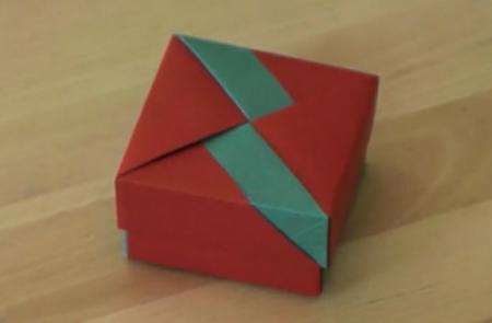 Модульное оригами: сувенирная