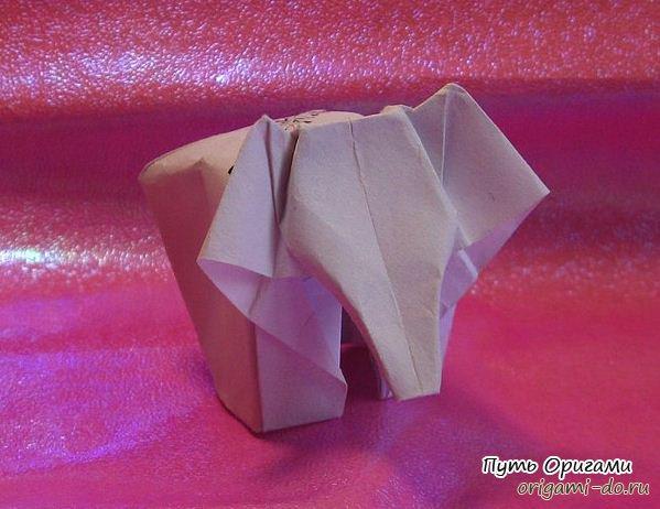 Оригами схема по сборке