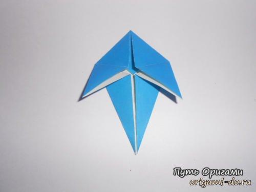 """Оригами кленовый лист - простое и понятное оригами для детей и взрослых.  Представленная схема оригами  """"листья клена """"..."""
