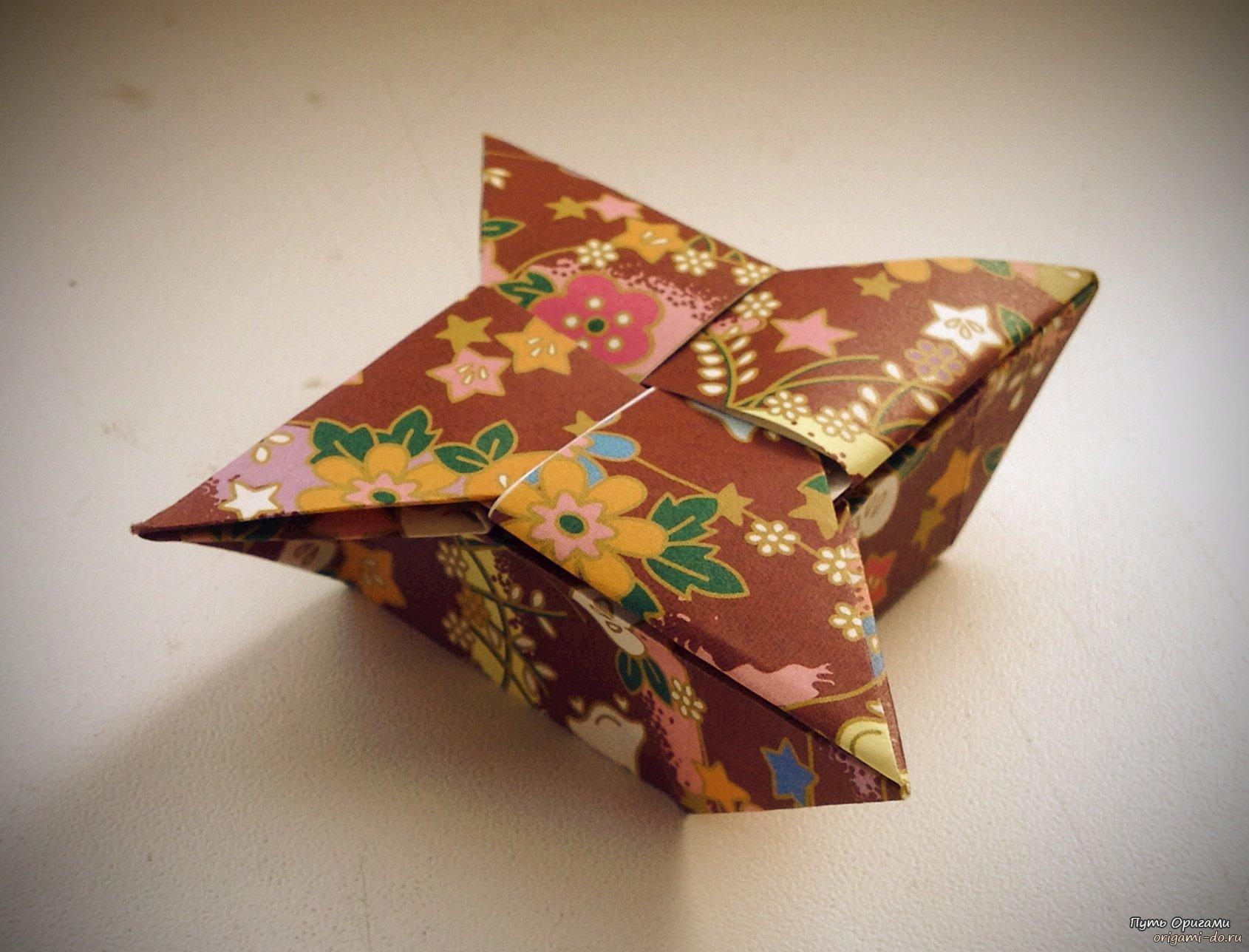 коробочка-сердце схема