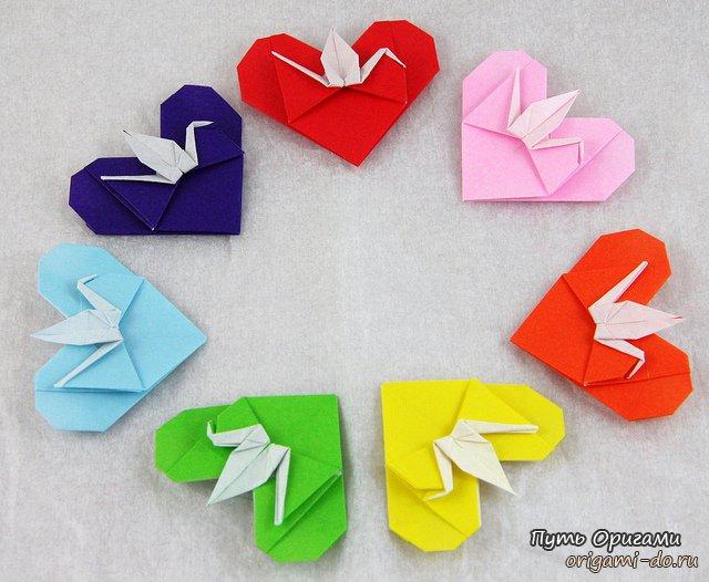 детальная оригами схема
