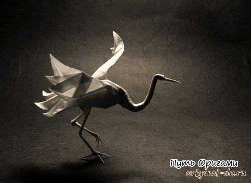 журавлик бумажный фото