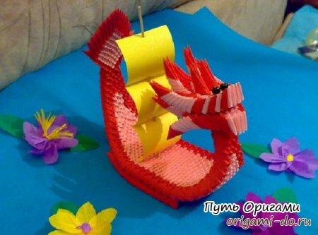 О модульном оригами