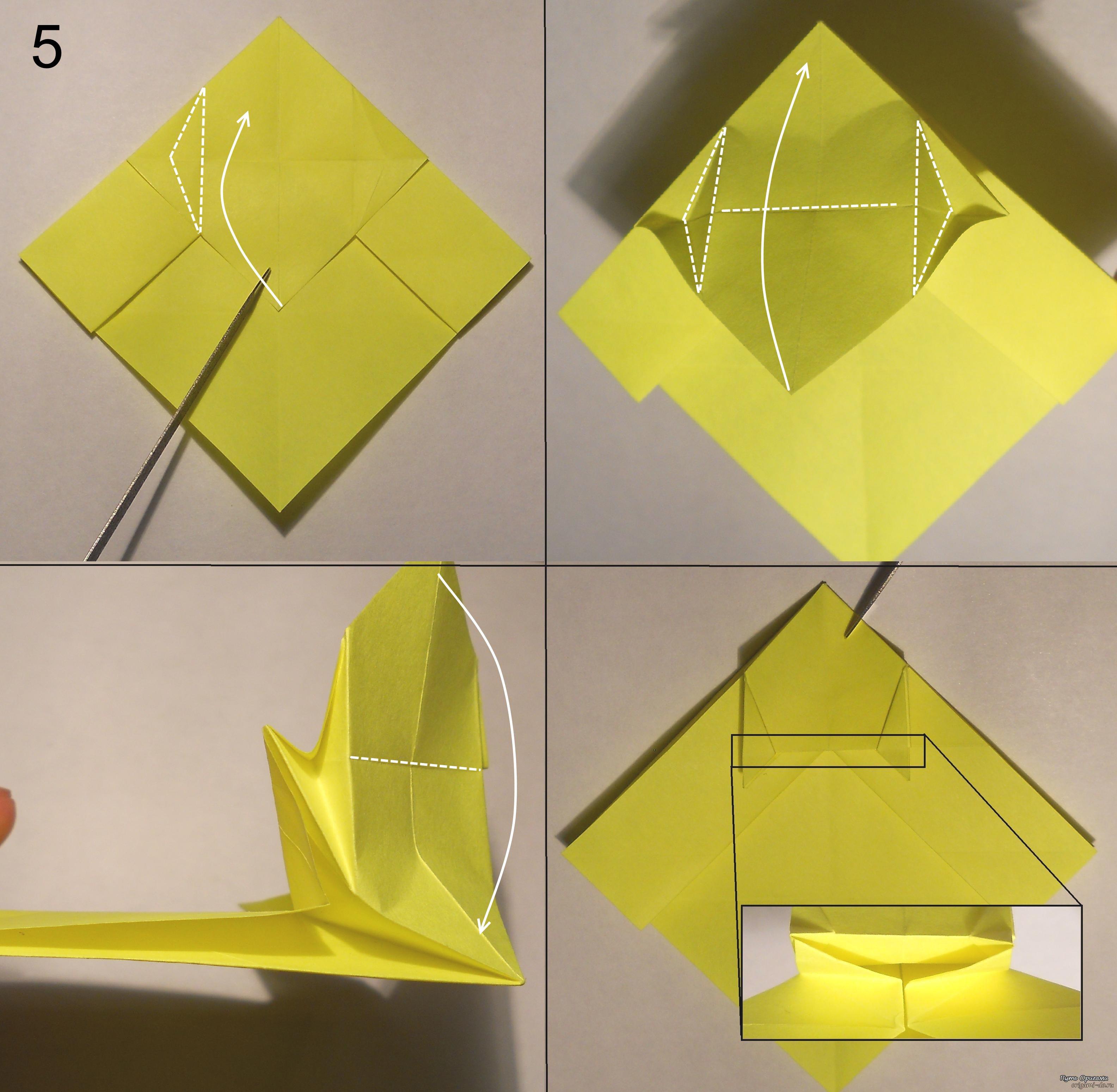 Как сделать из бумаги котенка.