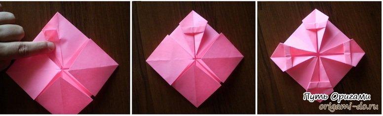 Оригами рамка для фотографии