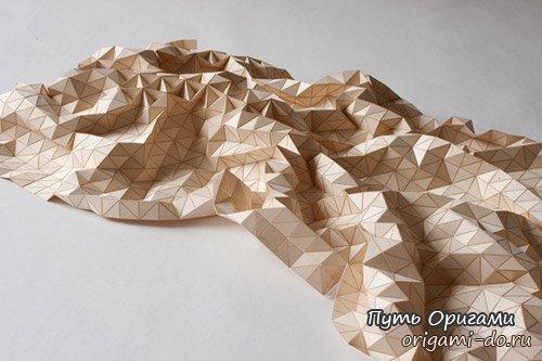 Искусство оригами в интерьере