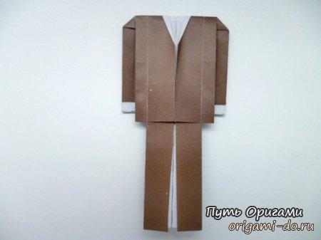Кстати, такое оригами отлично
