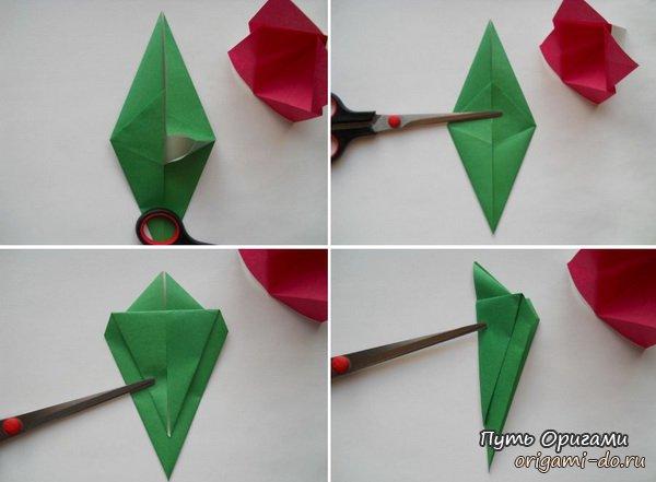 Детское оригами – кроха