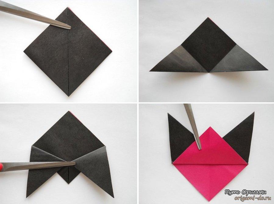 Как сделать снегиря из бумаги своими руками