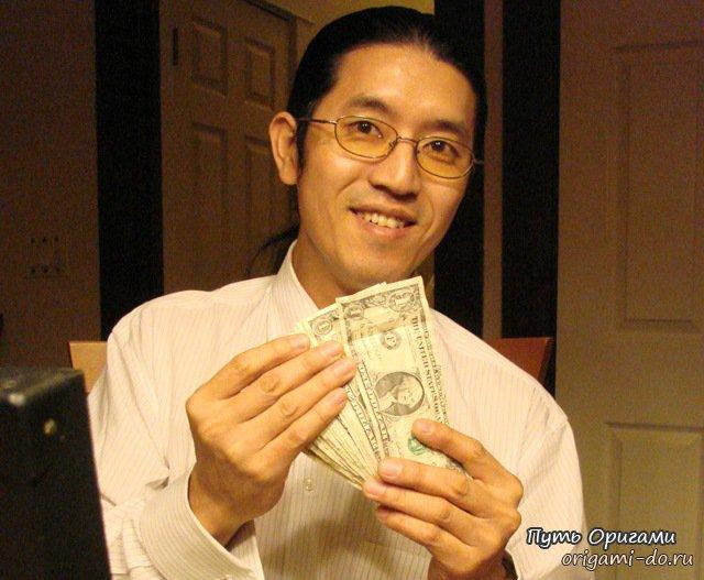 Мастер манигами Вон Парк
