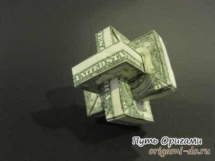 интересный оригами сувенир