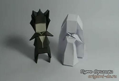 Как оригами сделать человека