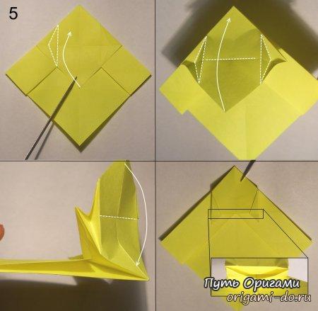 Как сделать из бумаги котенка