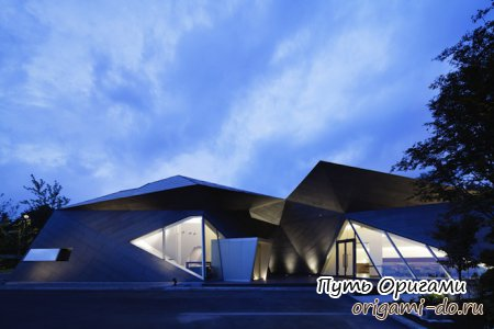Оригами в дизайне интерьера и архитектуре