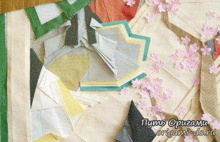 Оригами выставка «Истории к книгам»