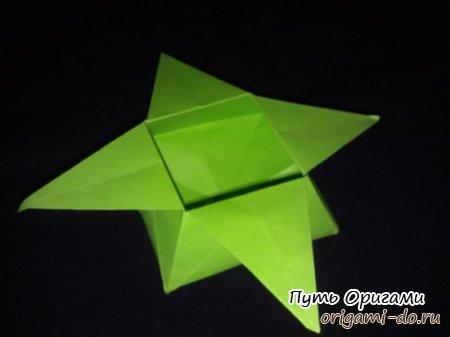 Коробочка звезда