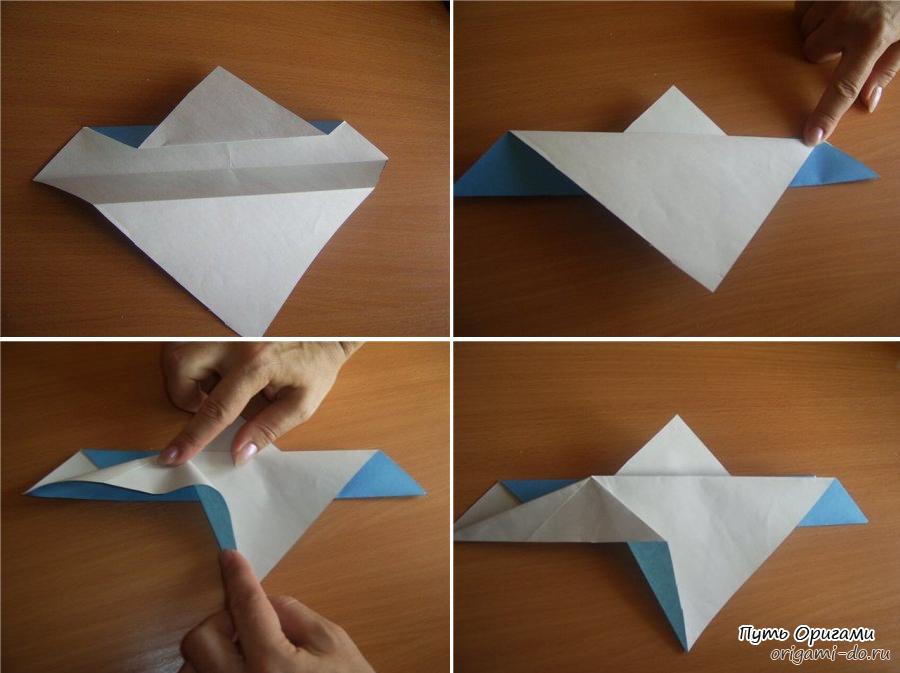 Фото Оригами Из Бумаги Орел По Инструкции