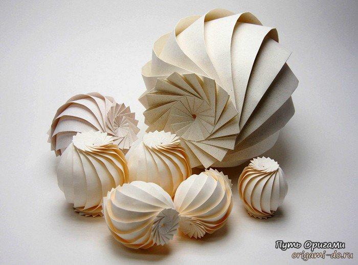 3D оригами Джуна Митани