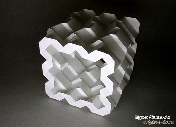 3d оригами в схемах