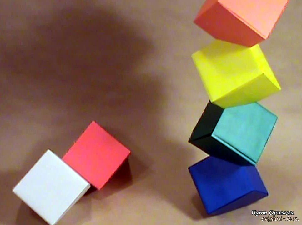 Оригами «башня Колумба»