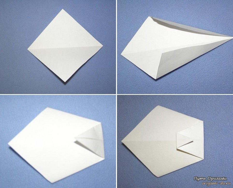 *Оригами на 23 февраля