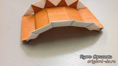 Мост оригами по схеме Kyoko