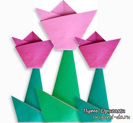 сегодня предлагаем оригами