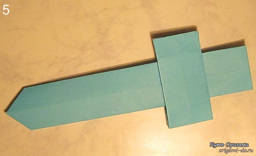 Оригами меч