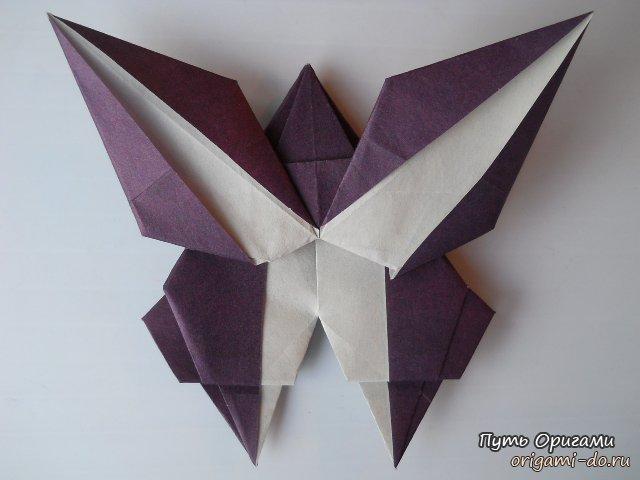 """Закладка для книги - бабочка """" Путь Оригами"""