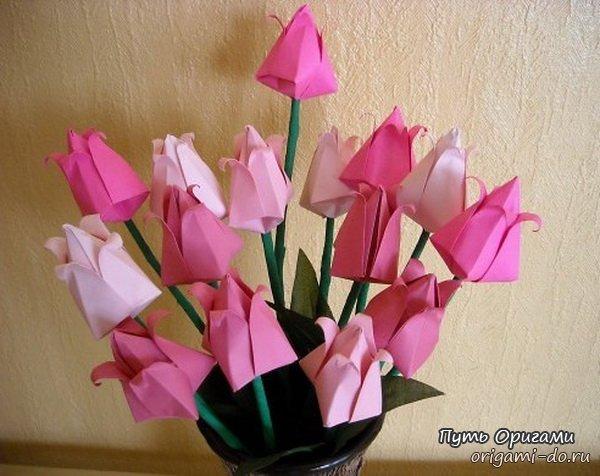 цветы подарить на 8 марта
