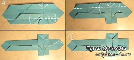 Как сделать из бумаги меч быстро и легко