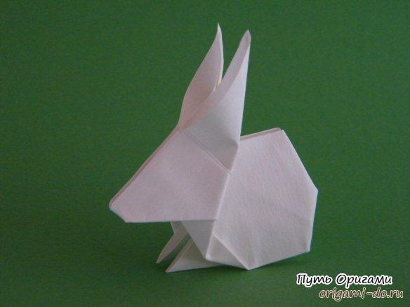 Бумажный заяц по схеме Dr.