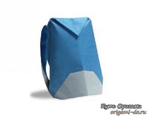 Как сделать рюкзак из бумаги своими руками видео рюкзаки гризли екатеринбург