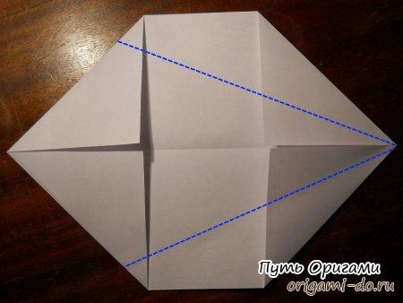 "Японский нож кунай "" Путь Оригами"