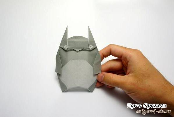 А для создания оригами Тоторо