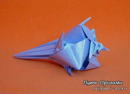 Оригамист Kawasaki Toshikazu