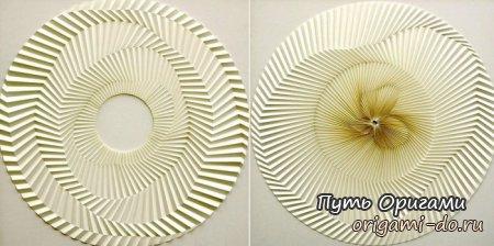 Гипнотические оригами Yuko Nishimura