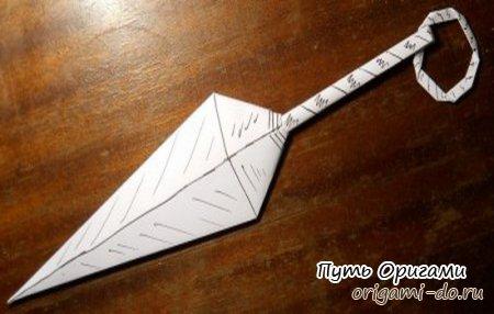 Японский нож кунай