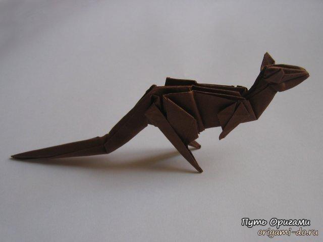 Как сделать оригами кенгуру
