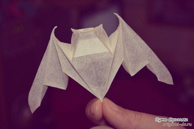 Оригами сборка летучей мыши