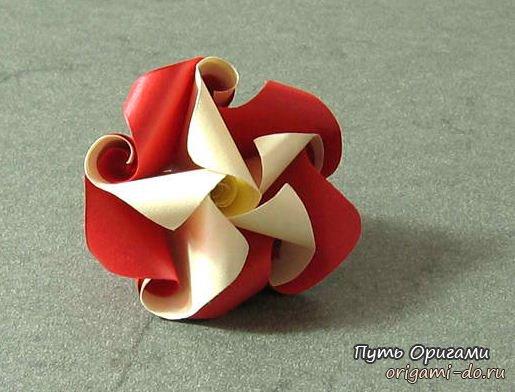 Цветок-завиток от мастера