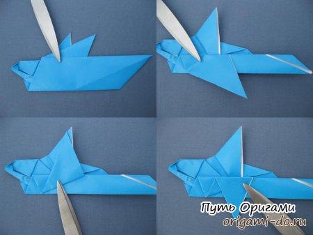 Как сделать из дельфина 157